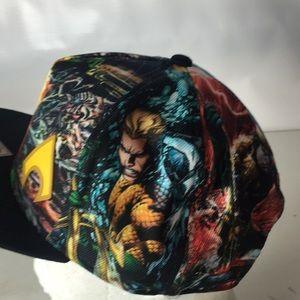 huge selection of b1e9d ff2ad DC Comics Accessories - AQUAMAN Hat DC Comics Sublimated Allover Print